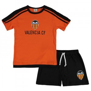 Valencia CF Short Pyjamas – Orange/Black – Junior All items