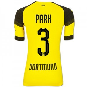 BVB Authentic evoKNIT Home Shirt 2018-19 with Park 3 printing All items