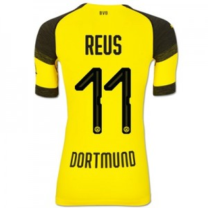 BVB Authentic evoKNIT Home Shirt 2018-19 with Reus 11 printing All items