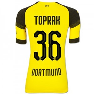 BVB Authentic evoKNIT Home Shirt 2018-19 with Toprak 36 printing All items