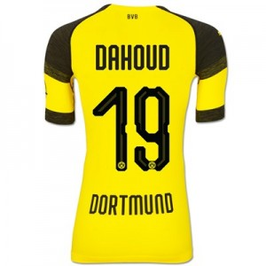BVB Authentic evoKNIT Home Shirt 2018-19 with Dahoud 19 printing All items