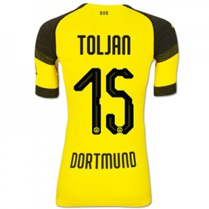 BVB Authentic evoKNIT Home Shirt 2018-19 with Toljan 15 printing All items