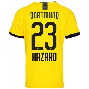 BVB Home Shirt 2019-20 – Kids with Hazard 23 printing All items