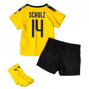 BVB Home Baby Kit 2019-20 with Schulz 14 printing All items