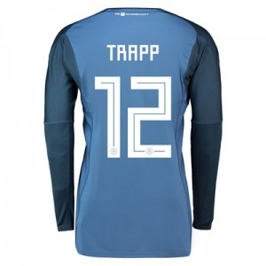 Germany Home Goalkeeper Shirt 2018 with Trapp 12 printing All items