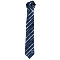 Everton Polyester Stripe Tie - Navy/Blue/White