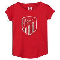 Atlético de Madrid Printed T-Shirt - Red - Girls