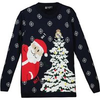 Real Madrid Christmas Jumper - Navy - Junior