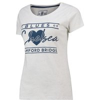 Chelsea Speckled Print T-Shirt - White - Womens