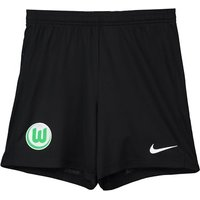 VfL Wolfsburg Training Woven Short - Black - Kids