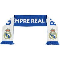 Real Madrid Reversible Knit Scarf - Blue/White - Adult