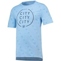 Manchester City Squad T-Shirt - Lt Blue