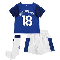 Everton Home Infant Kit 2017/18 with Sigurdsson 18 printing