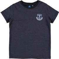 Everton Essential T-Shirt - Mid Blue Marl (2-13yrs)