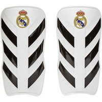 Real Madrid Pro Lite Shin Guards - White