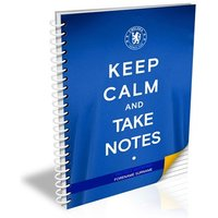 Chelsea Personalised Keep Calm Notebook