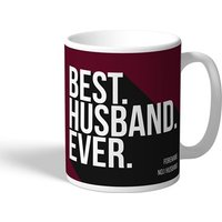 West Ham United Personalised Best Husband Ever Mug