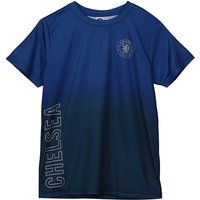 Chelsea Gradient Poly T-Shirt - Royal - Older Boys