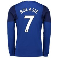 Everton Home Shirt 2017/18 - Junior - Long Sleeved with Bolasie 7 printing