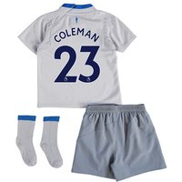 Everton Away Baby Kit 2017/18 with Coleman 23 printing