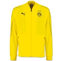 BVB Training Leisure Jacket - Yellow - Kids