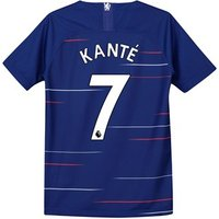 Chelsea Home Stadium Shirt 2018-19 - Kids with Kanté 7 printing