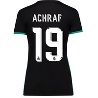 Real Madrid Away Shirt 2017-18 - Womens with Achraf 19 printing
