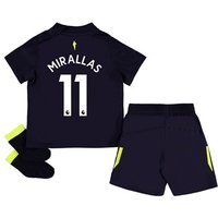 Everton 3rd Baby Kit 2017/18 with Mirallas 11 printing