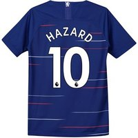 Chelsea Home Stadium Shirt 2018-19 - Kids with Hazard 10 printing