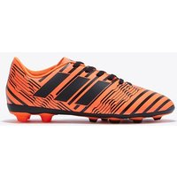 adidas Nemeziz 17.4 Firm Ground Football Boots - Solar Orange/Core Black/Solar Orange - Kids