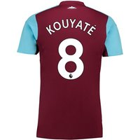 West Ham United Home Shirt 2017-18 - Kids with Kouyaté 8 printing