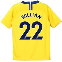 Chelsea Away Stadium Shirt 2018-19 - Kids with Willian 22 printing