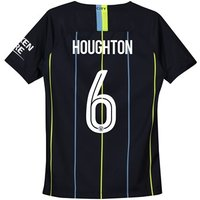 Manchester City Away Cup Stadium Shirt 2018-19 - Kids with Houghton 6 printing