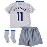Everton Away Baby Kit 2017/18 with Walcott 11 printing