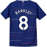 Chelsea Home Stadium Shirt 2018-19 - Kids with Barkley 8 printing