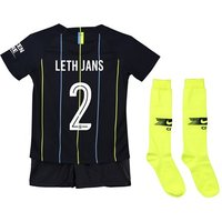 Manchester City Away Cup Stadium Kit 2018-19 - Little Kids with Leth Jans 2 printing