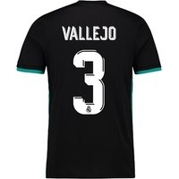 Real Madrid Away Shirt 2017-18 with Vallejo 3 printing