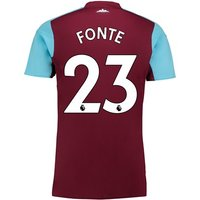 West Ham United Home Shirt 2017-18 - Kids with Fonte 23 printing