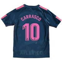 Atlético de Madrid Third Stadium Shirt 2017-18 - Kids with Carrasco 10 printing