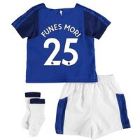 Everton Home Baby Kit 2017/18 with Funes Mori 25 printing