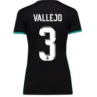 Real Madrid Away Shirt 2017-18 - Womens with Vallejo 3 printing