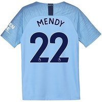 Manchester City Home Stadium Shirt 2018-19 - Kids with Mendy 22 printing