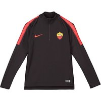 AS Roma Squad Drill Top - Burgundy - Kids