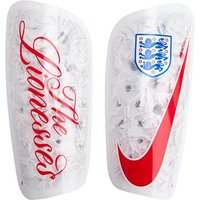 England Mercurial Lite Shinguards - White