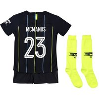 Manchester City Away Cup Stadium Kit 2018-19 - Little Kids with McManus 23 printing