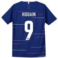 Chelsea Home Cup Stadium Shirt 2018-19 - Kids with Higuain 9 printing