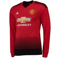 Manchester United Home Shirt 2018-19 - Long Sleeve
