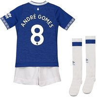 Everton Home Infant Kit 2018-19 with André Gomes 8 printing