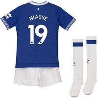 Everton Home Infant Kit 2018-19 with Niasse 19 printing