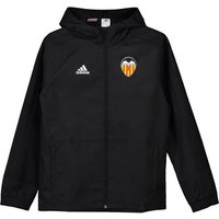 Valencia CF Training Rain Jacket - Black/White - Kids